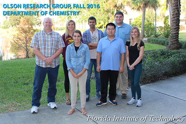 Olson Research Group Fall 2018