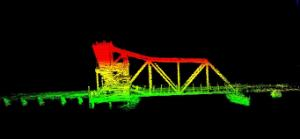 3D Model of bridge from LiDAR data